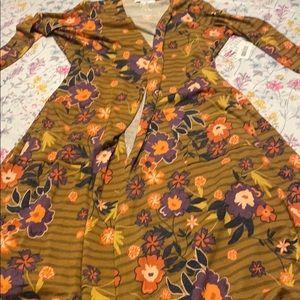 LulaRoe Sarah long cardigan, NWT, medium
